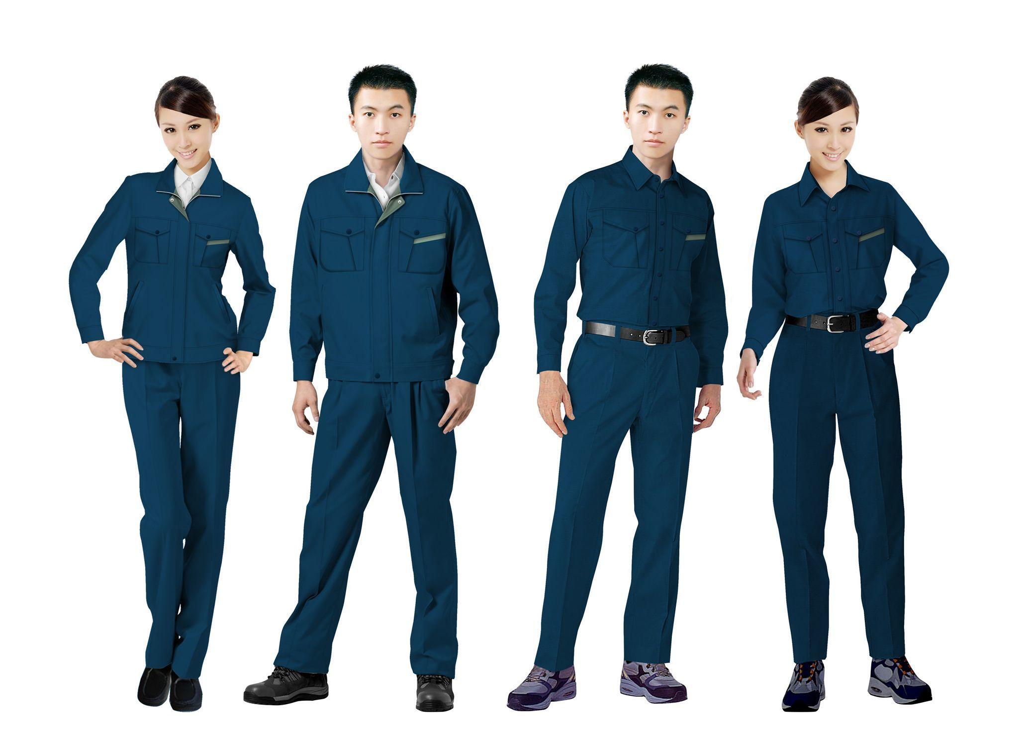 工作服设计图系列方案12
